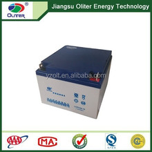 Best quality!AGM deep cycle solar power energy gel battery 12V 24AH
