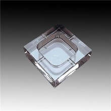 printed glass ashtray household ashtray high quality products crystal glass cigarette ashtray