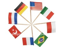 hot sale national flag toothpick