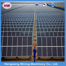 mono solar panel 300w pile driving mounting system solar corridor lighting system