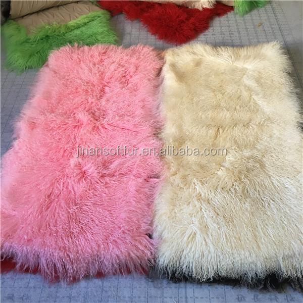 Nice Tibetan Lamb Rug Goat Skin Blanket Factory Buy Goat