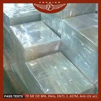 Rigid plastic products good printing and bending laser printing pvc sheet