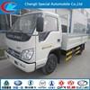 New cargo truck 4*2 van truck good quality ISO certificate cargo transporting truck foton van price