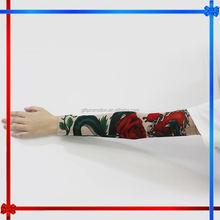 โพลีเอสเตอร์ผ้าspendexeh020/coolmaxสักแขนสำหรับผู้หญิง