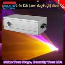 Professional stage 3D Animation 1w / 2w / 3w / 4w RGB Christmas Laser Light Show