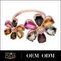 Top producto 925 anillos de plata esterlina del anillo de bodas