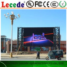 10MM Pixel pitch and Full Color outdoor P10 commerical advertising display screen