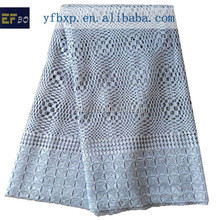Grey Purple Yellow White Orange 2015 African Guipure Lace/Swiss Guipure Lace Dress Fabric With Stones