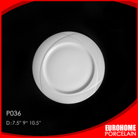 wholesale new porcelain products dinnerware hotel dessert plate