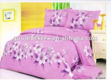 65gsm 240cm bed sheets printed fabric to egypt