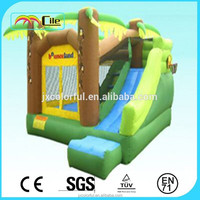 CILE Amazing Fun Backyard Inflatable Bouncer Slip Slide for Commercial Promotion