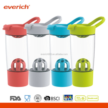 New Design BPA Free Tritan Material Protein Shaker With Extra Container