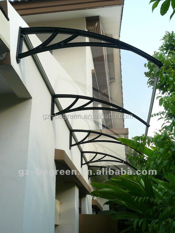 yp60400 rain shades door shelter plastic canopy awning. Black Bedroom Furniture Sets. Home Design Ideas