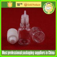 certificate pet 15ml pet E liquid plastic dropper bottle clear E liquid plastic dropper bottle