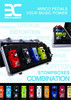 Portable ENO Guitar Effects Pedal board case