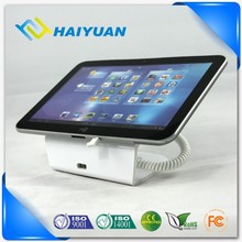 Supermarket show case security alarm display tablet stand