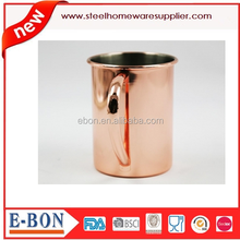 2015 Ten top Sellers Stainless steel mule copper mug moscow mule