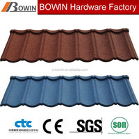 metro roofing tile /stone coated aluminum zinc steel roof sheet