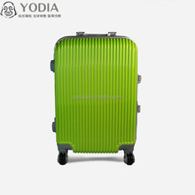 bright color travel luggage