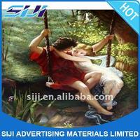 Fine art canvas,polyester art canvas 110G