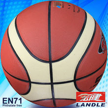 new style official size colorful basketball ball leather
