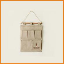 zakka grocery trade of the original single remote control to Jute Bag Storage Bag debris storage / wall Bag 0061