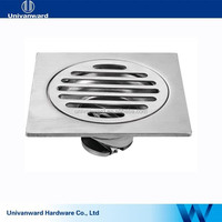 Bathroom and toilet 4 inches stainless steel floor drain