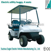 electric golf cart with jumper seat, CE approved,EG2026KSF