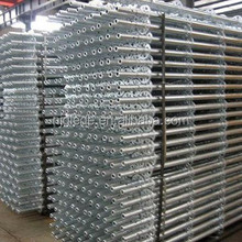 Good quantity aluminum plank with hooks for scaffolding