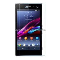 Tempered glass screen protector for Sony Xperia Z1 China supplier