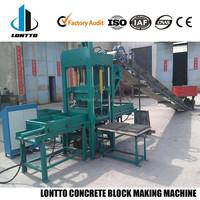 QTY3-35 Semi-automatic Concrete/Cement Block Making Machine Concrete kerb Machine Sales in Ethiopia
