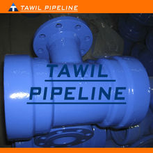 TAWIL pvc double socket flange branch tee