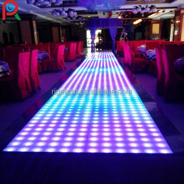 Wholesale 60 60cm Portable Cheap Led Dance Floor Disco