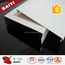 China Made High Quality Powder Coated Aluminum Ceiling Strips for Office