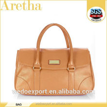 new famous brand women leather handbags/resale factory exported leather bag