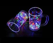 Water activated led cup,led glasses cup,led flashing glow cup SJ-LC59