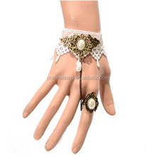 Lace bracelet ring sets antique women jewelry set wholesale