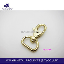 Metal dog buckle & adjustable hook