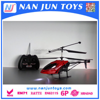 3ch rc helicopter with EN 71 certification for kids