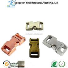 Dongguan Yikai Bag Accessories Insert Buckle adjustable belt buckle quick release belt buckle