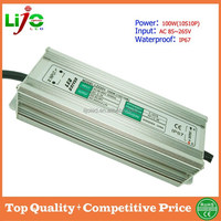 constant current 3000ma 100W ip67 waterproof led driver for led bulbs
