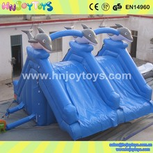 Summer water games inflatable slide for inflatable pool