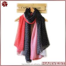 New fashion women's multicolor small heart design scarf wrap