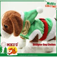 T.O.P. Christmas Elf cosplay costume, dog pet clothes for Christmas
