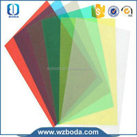 A4 book binding cover clear PVC binding cover transparent pvc sheet for binding covers manufacturer