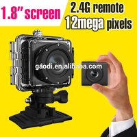 WiFi Full HD Action Sport Camera,Go Pro Style 30M Waterproof 14MP H.264 1080P