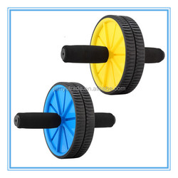 Hot selling Fitness exercise abdominal ab wheel and ab roller wheels exercises with handle
