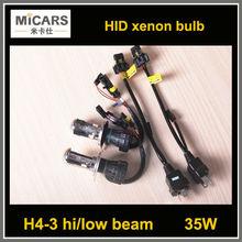 universal vehicle xenon lamp h4 dual beam high low bulb