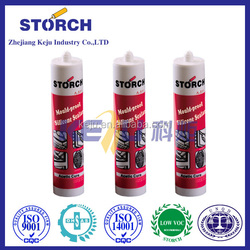 Storch General purpose all glass silicone sealant clear with fast curing and factory price