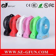 Hot Summer mini usb fan/car/desk/protable 5v cooling fan